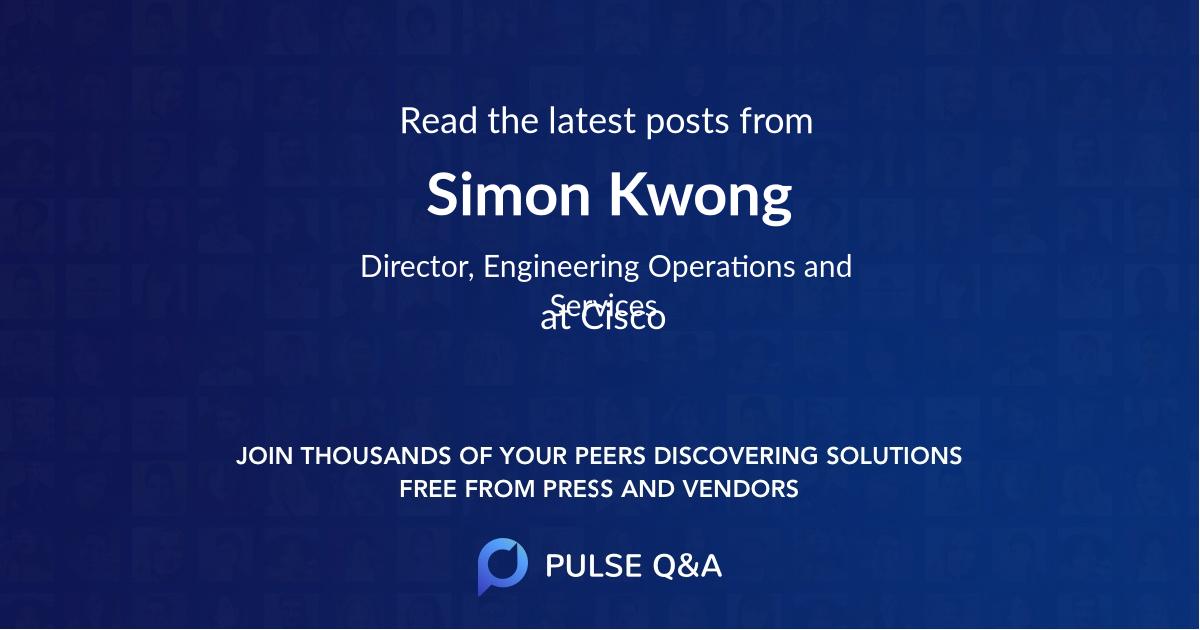 Simon Kwong