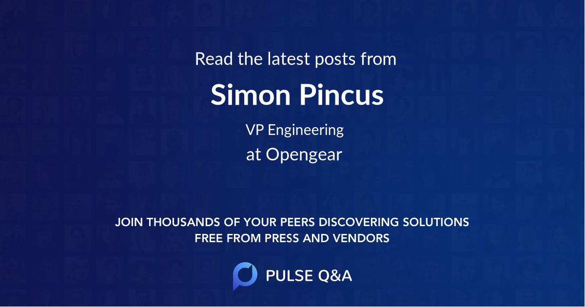 Simon Pincus