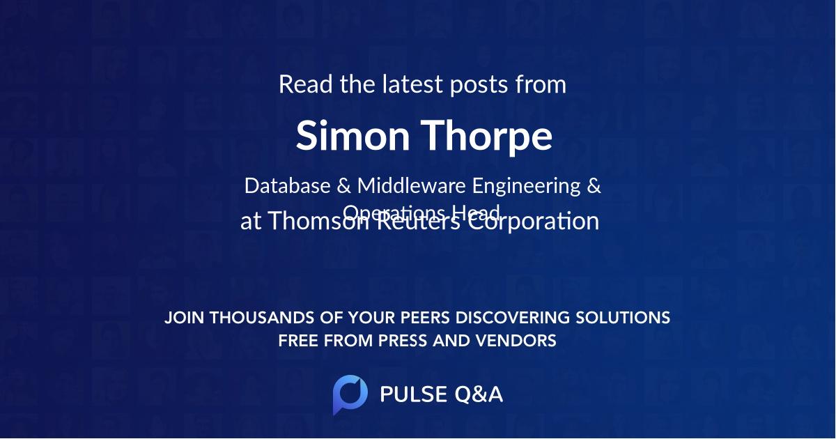 Simon Thorpe