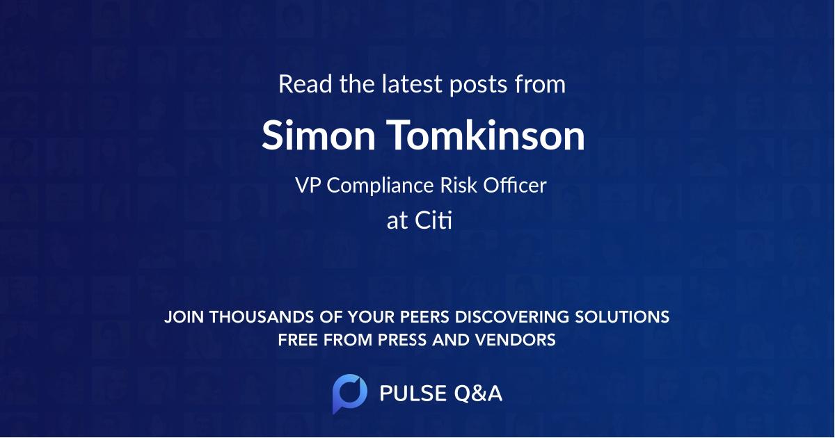 Simon Tomkinson