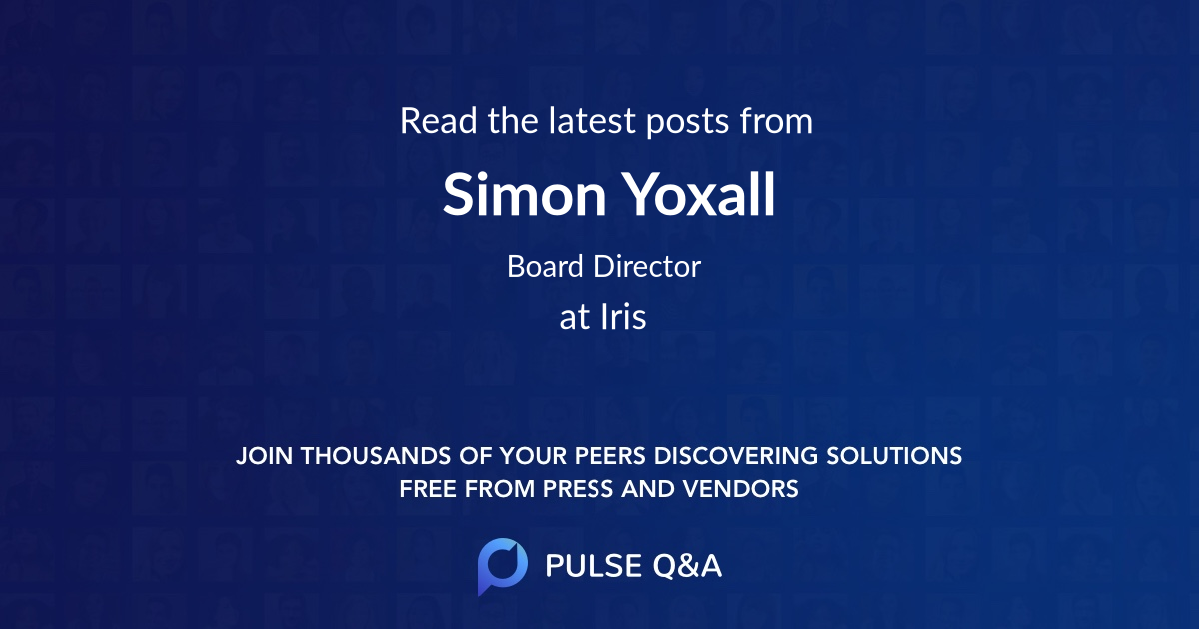 Simon Yoxall