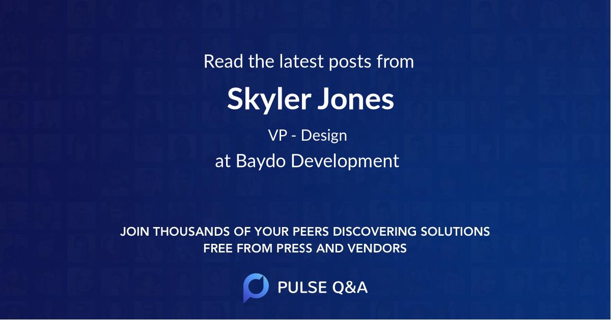 Skyler Jones