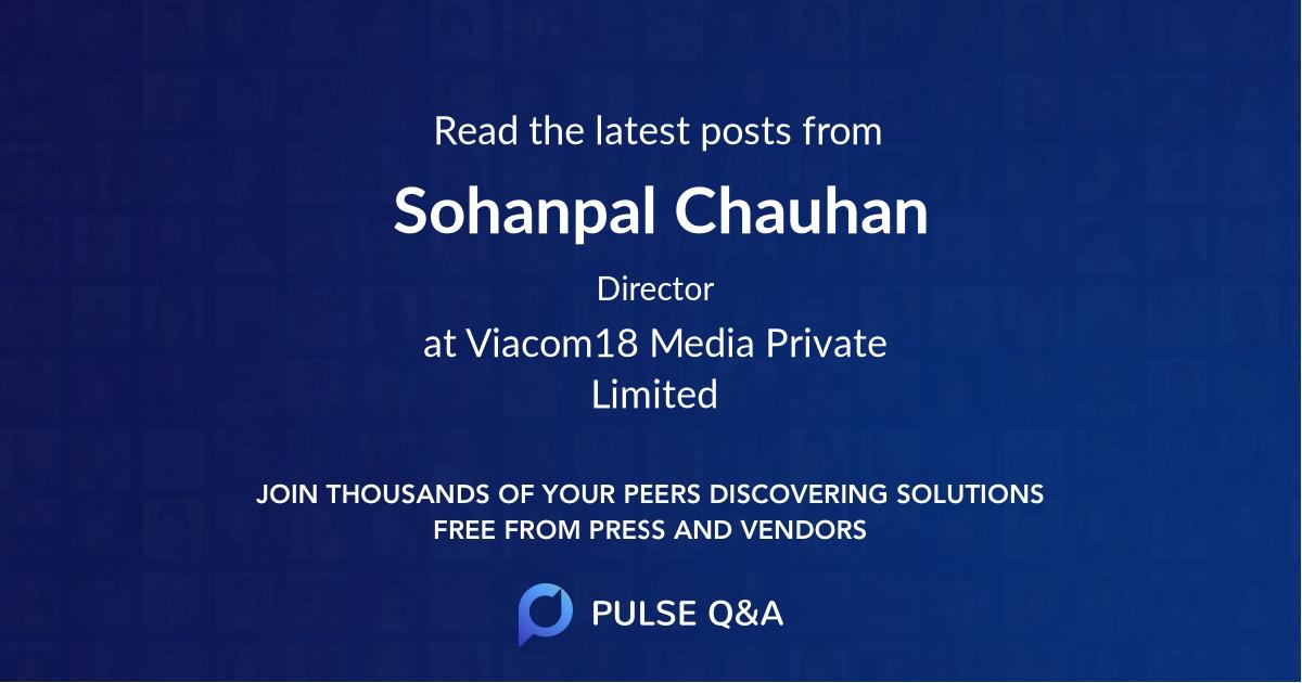 Sohanpal Chauhan