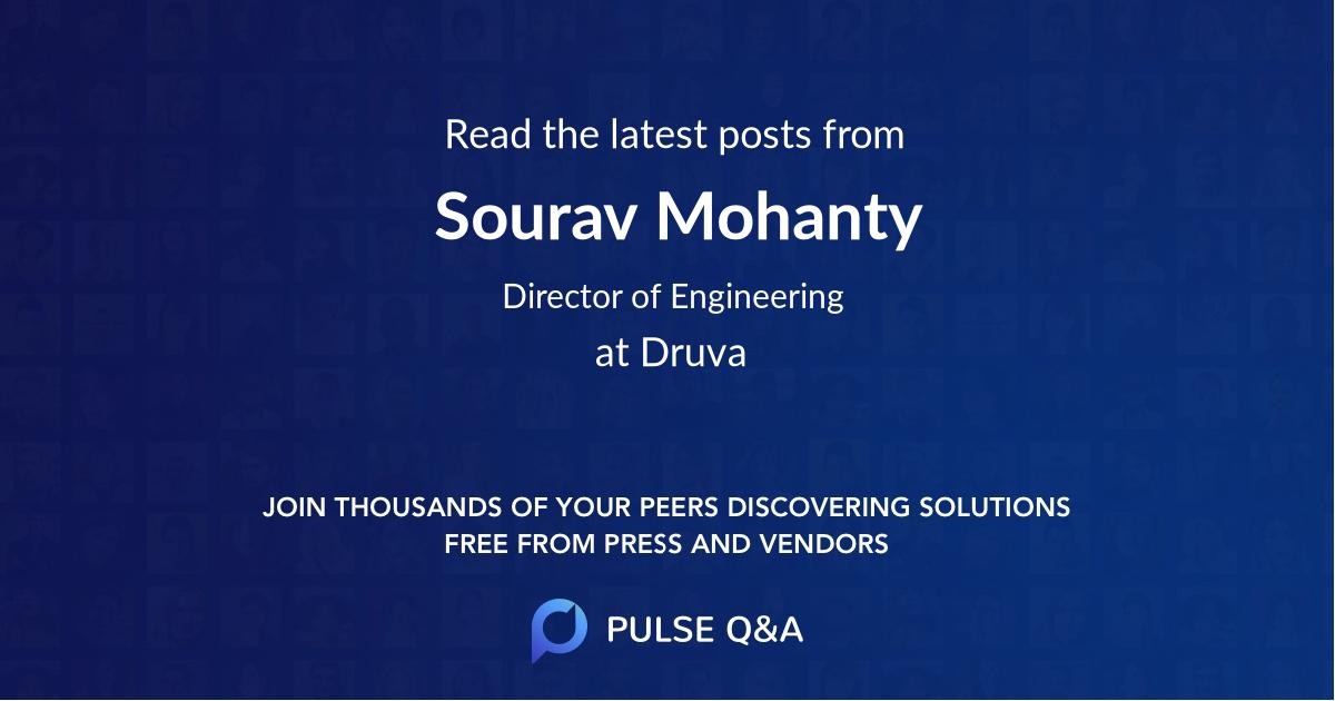 Sourav Mohanty