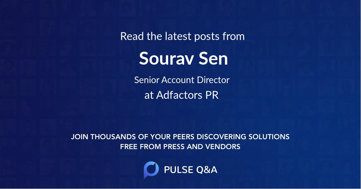 Sourav Sen