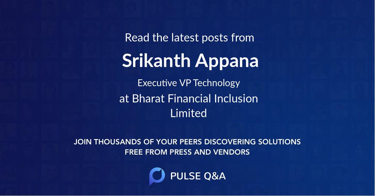 Srikanth Appana