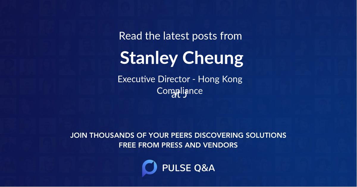 Stanley Cheung