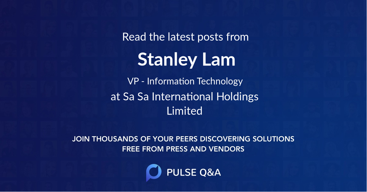 Stanley Lam