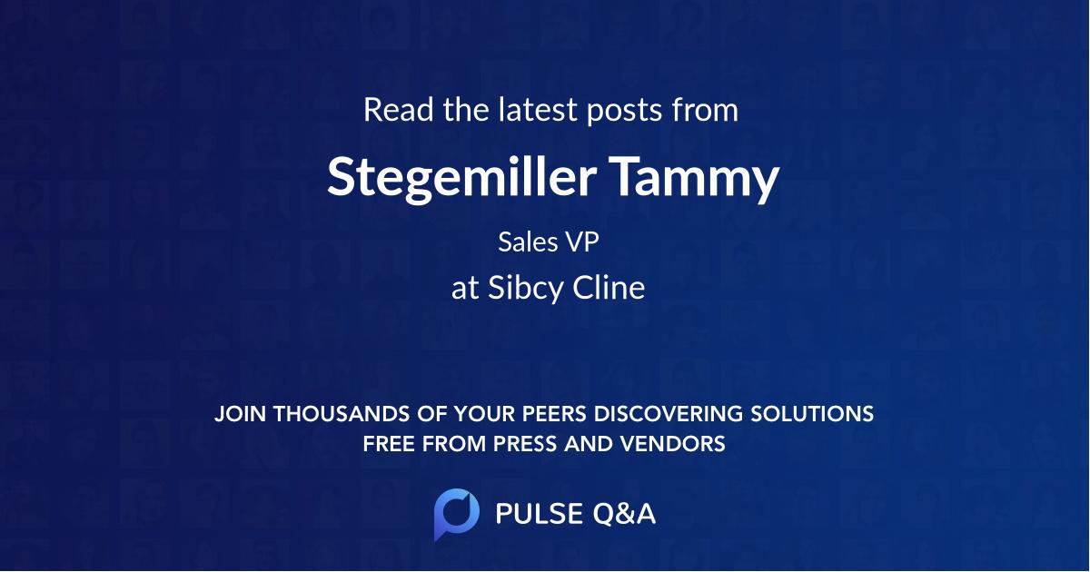 Stegemiller Tammy