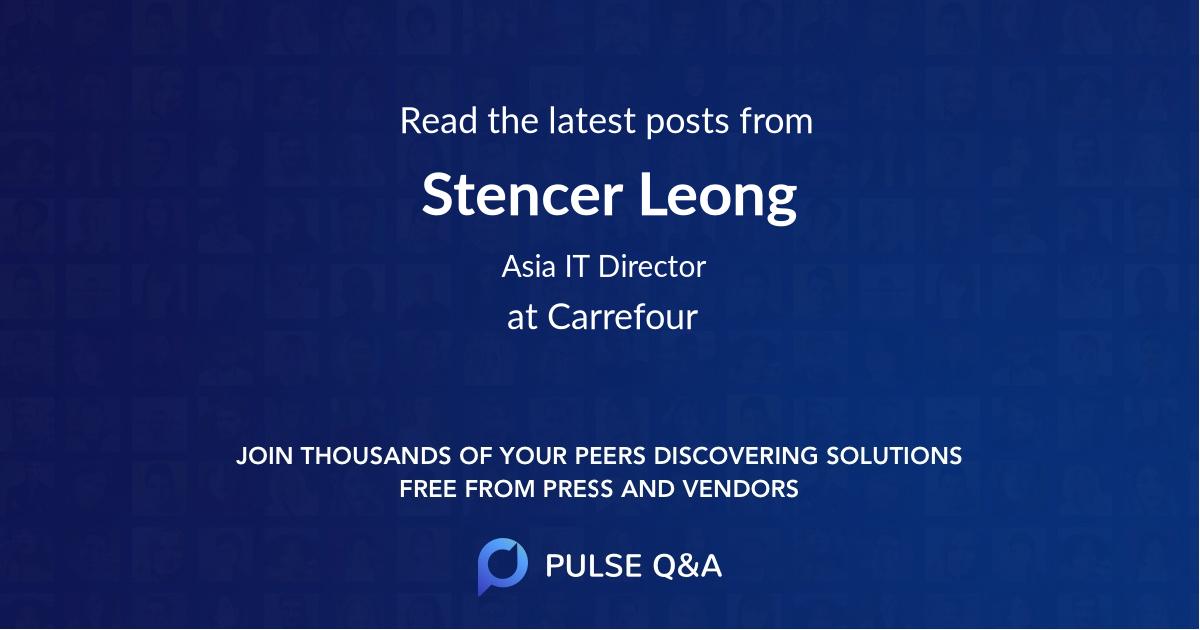 Stencer Leong