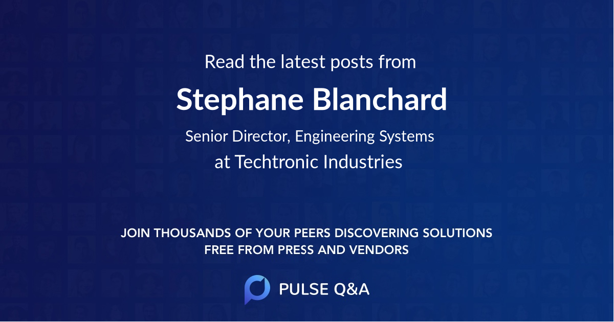 Stephane Blanchard