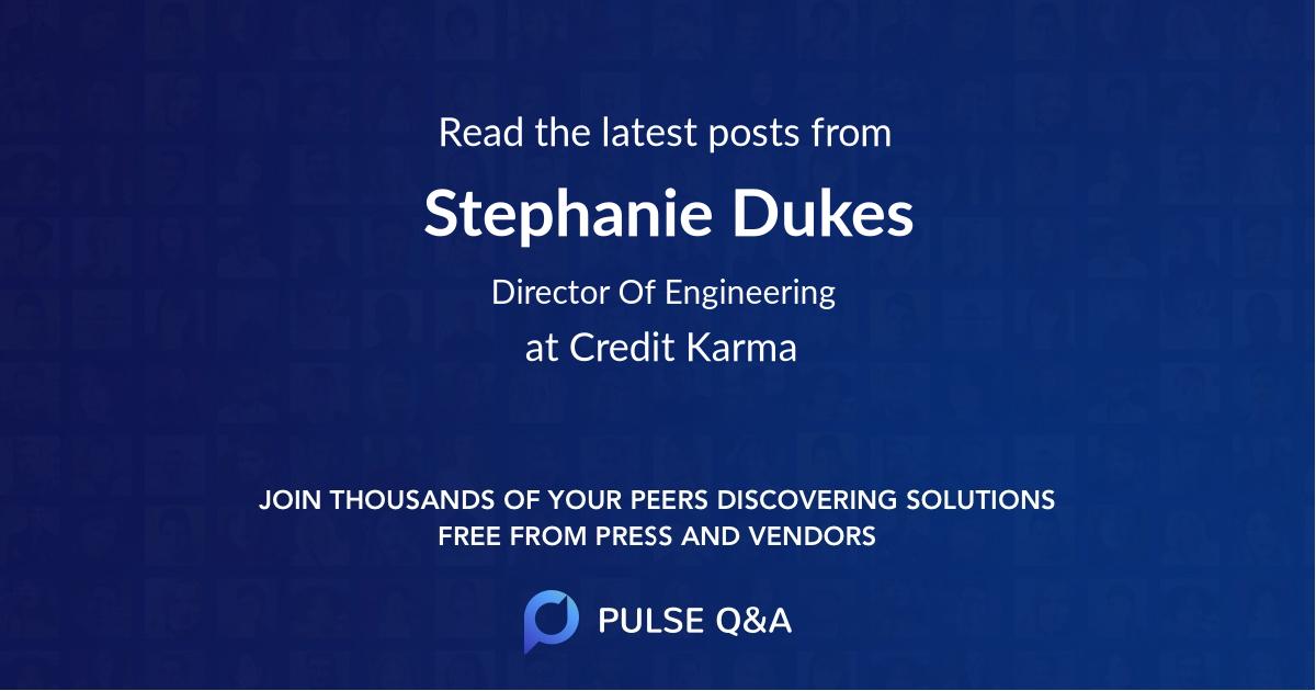 Stephanie Dukes