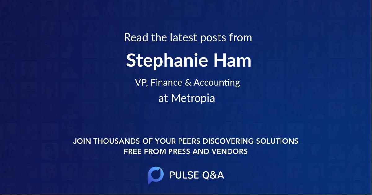 Stephanie Ham