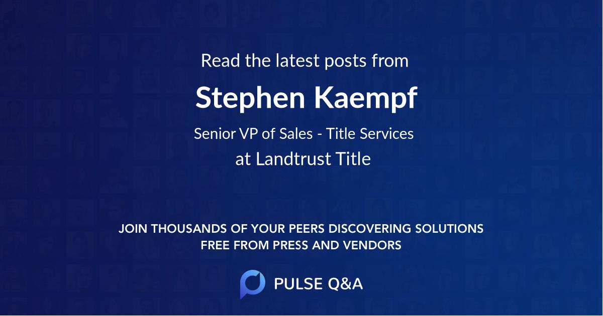 Stephen Kaempf
