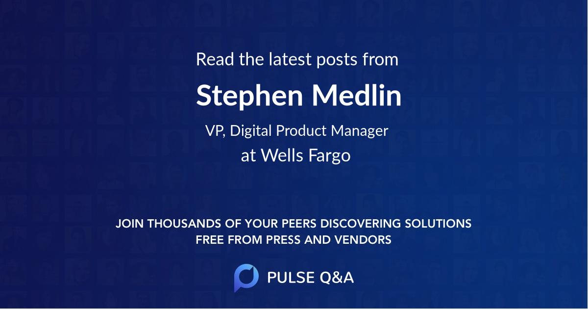 Stephen Medlin