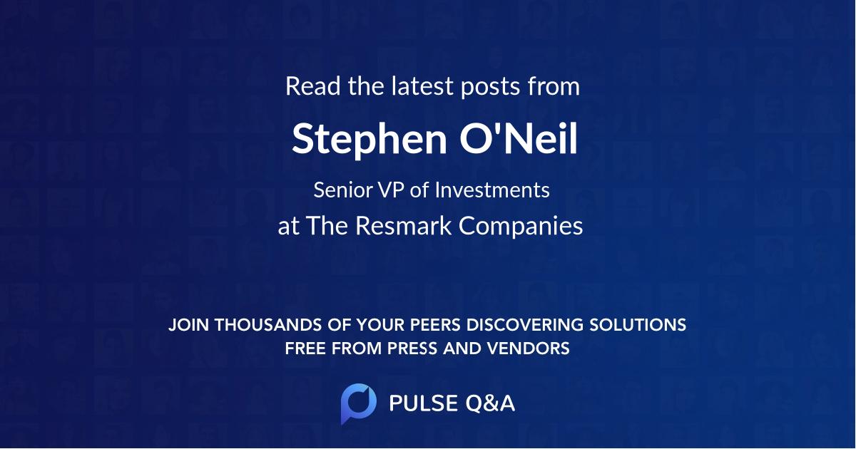 Stephen O'Neil