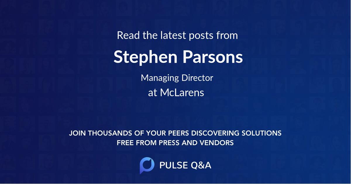 Stephen Parsons