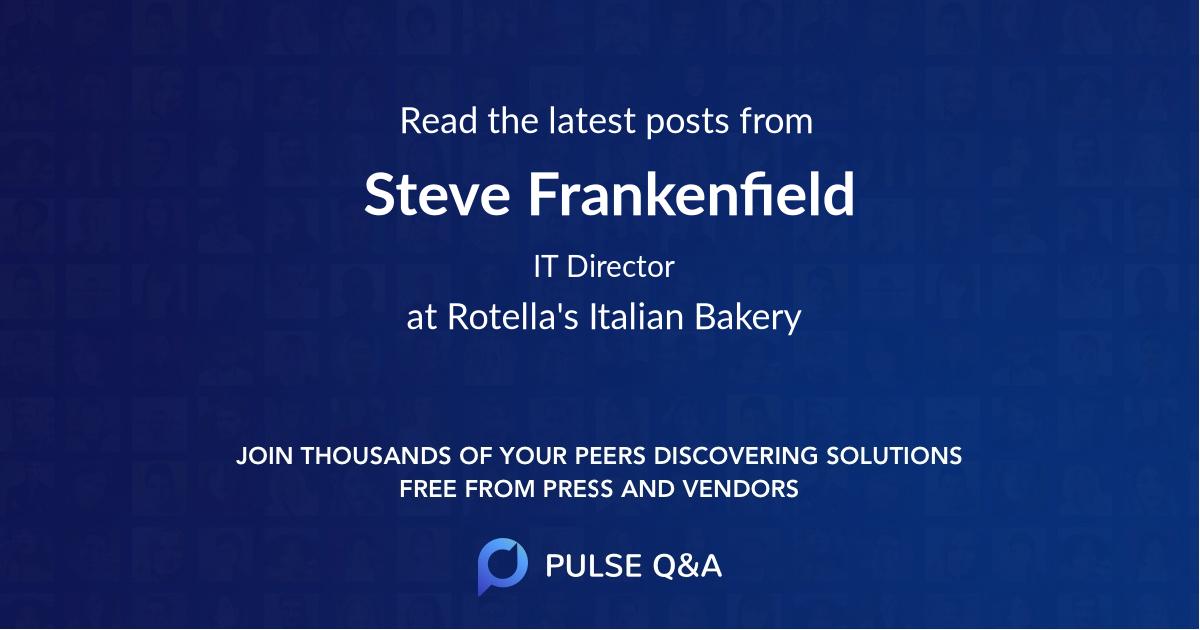 Steve Frankenfield