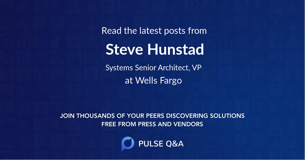 Steve Hunstad