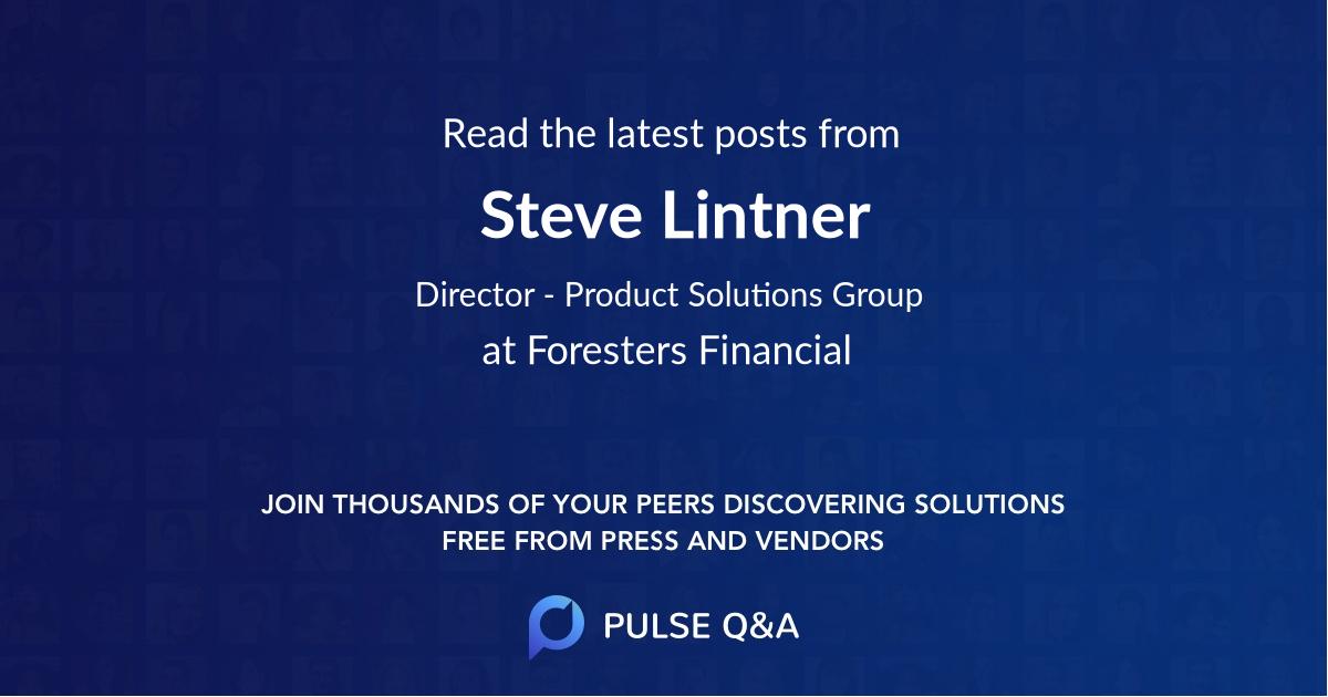 Steve Lintner
