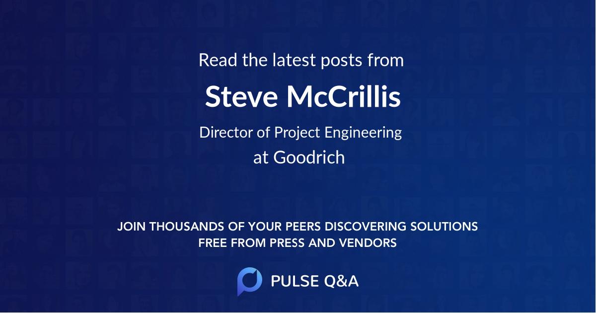 Steve McCrillis