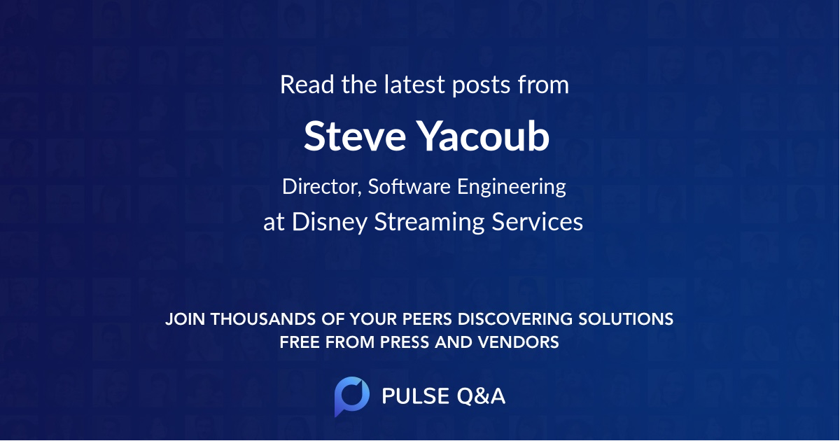 Steve Yacoub