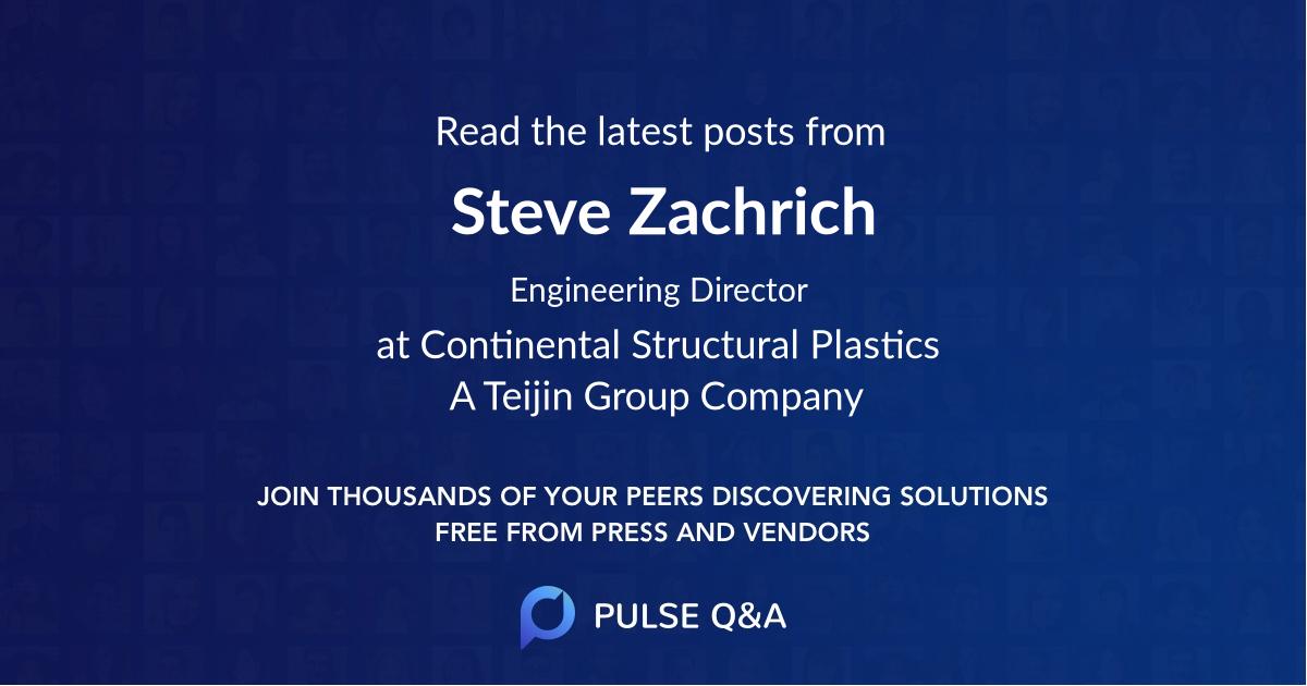 Steve Zachrich