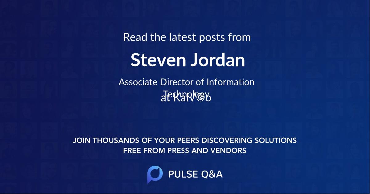 Steven Jordan