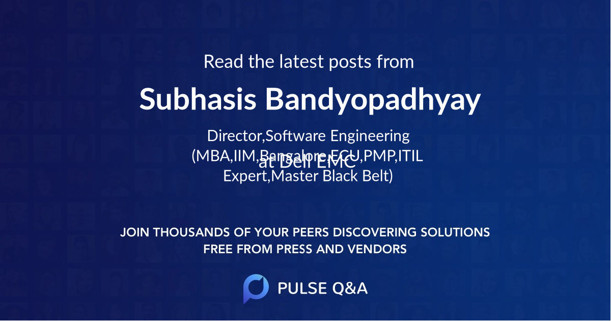 Subhasis Bandyopadhyay