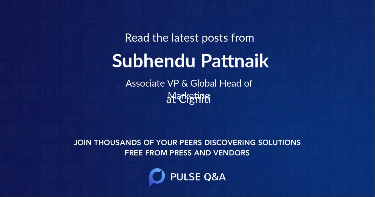 Subhendu Pattnaik