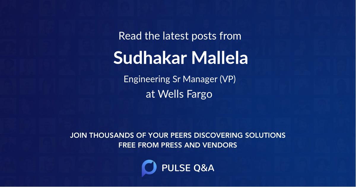 Sudhakar Mallela