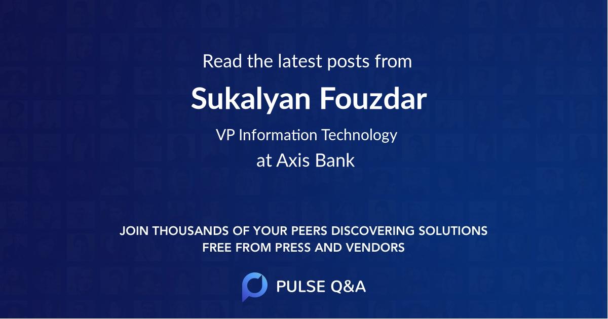 Sukalyan Fouzdar
