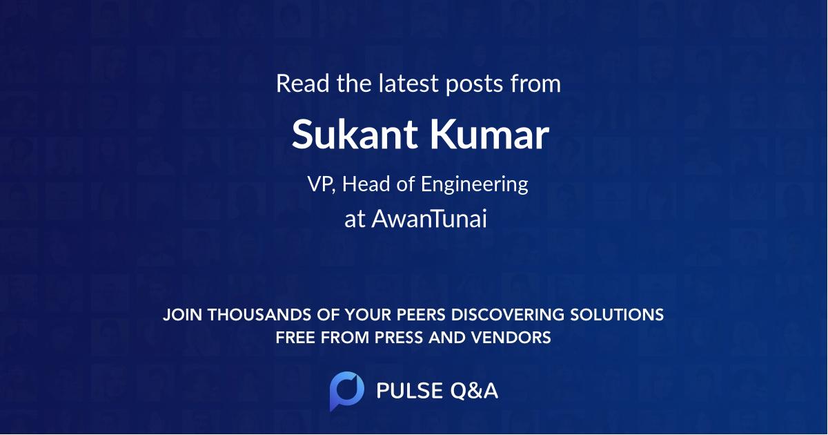 Sukant Kumar