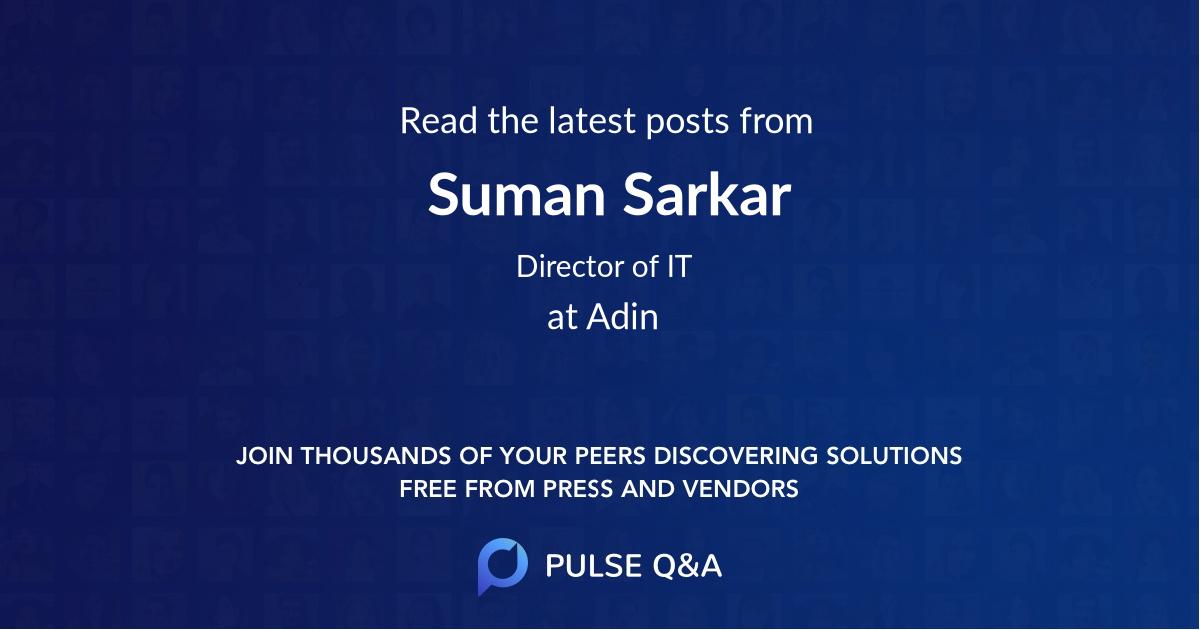 Suman Sarkar