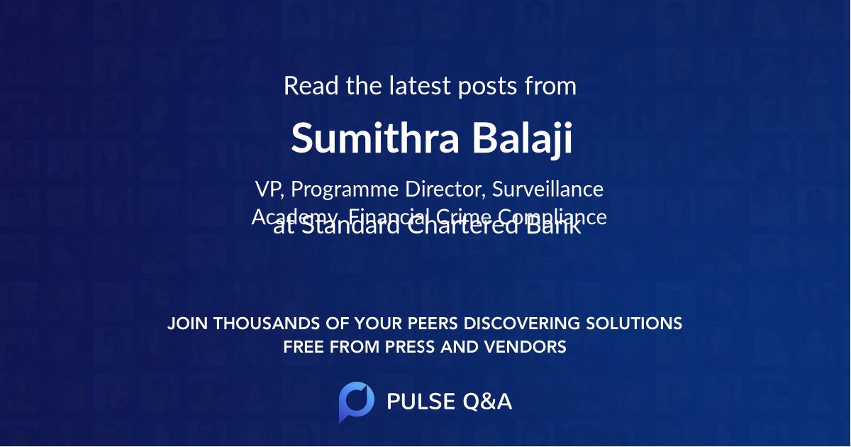 Sumithra Balaji