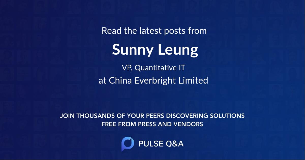 Sunny Leung