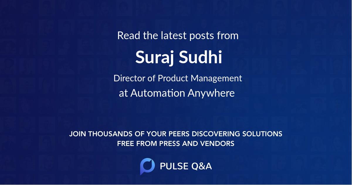 Suraj Sudhi