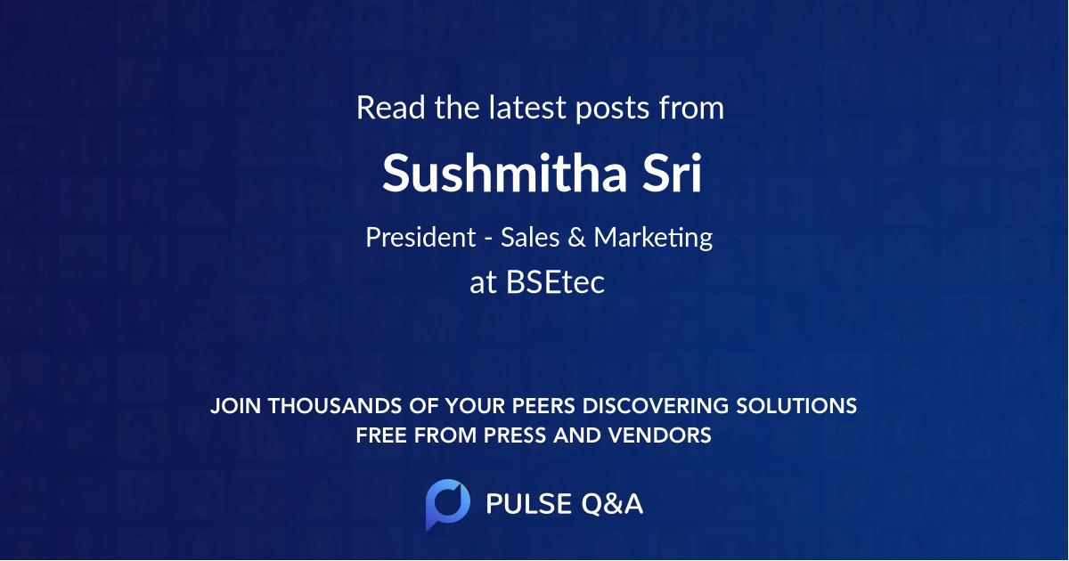 Sushmitha Sri