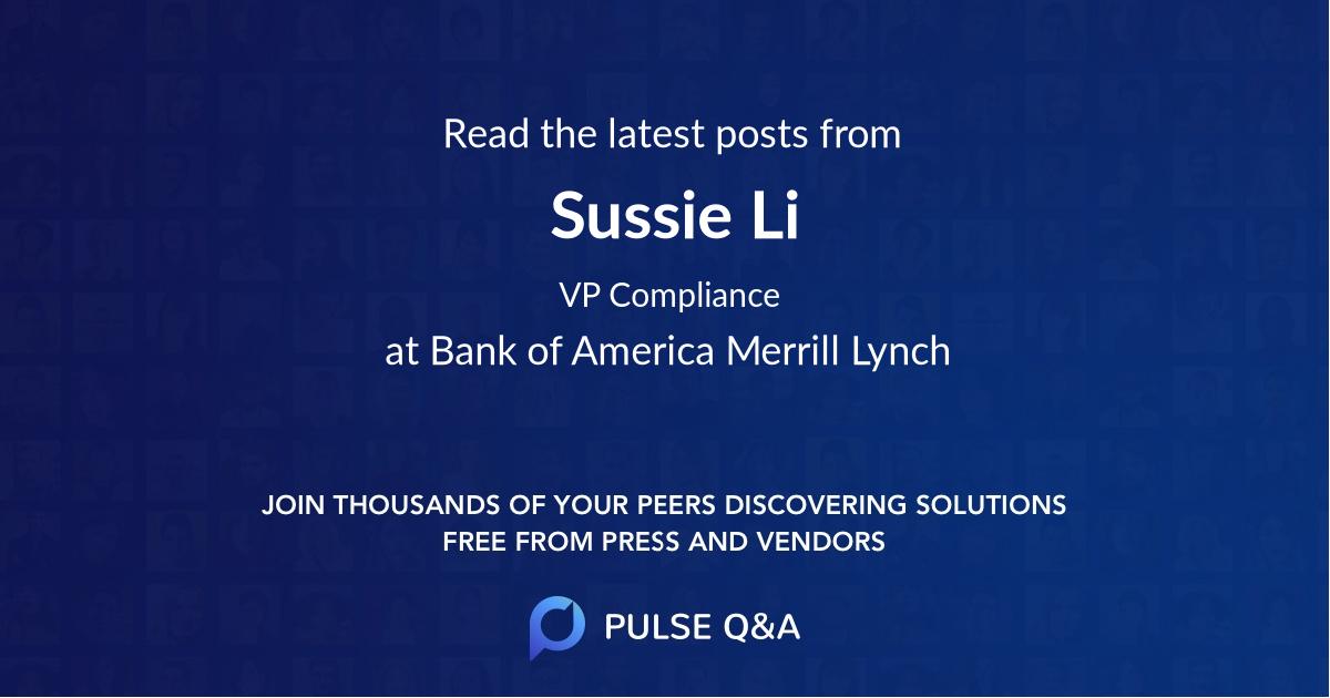 Sussie Li