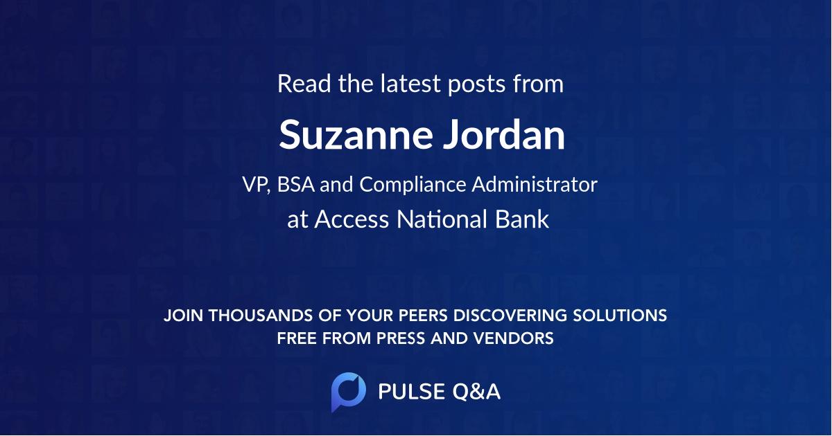 Suzanne Jordan