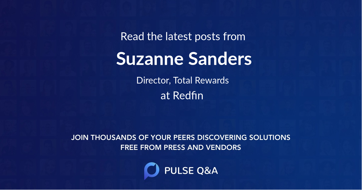 Suzanne Sanders
