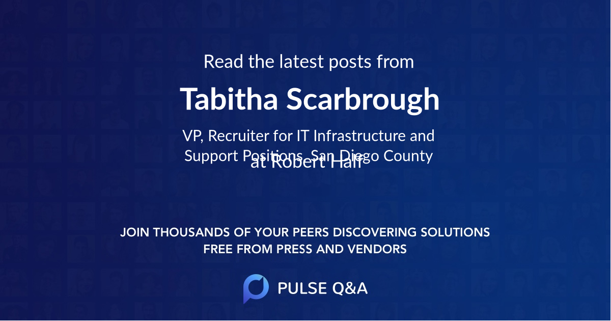 Tabitha Scarbrough