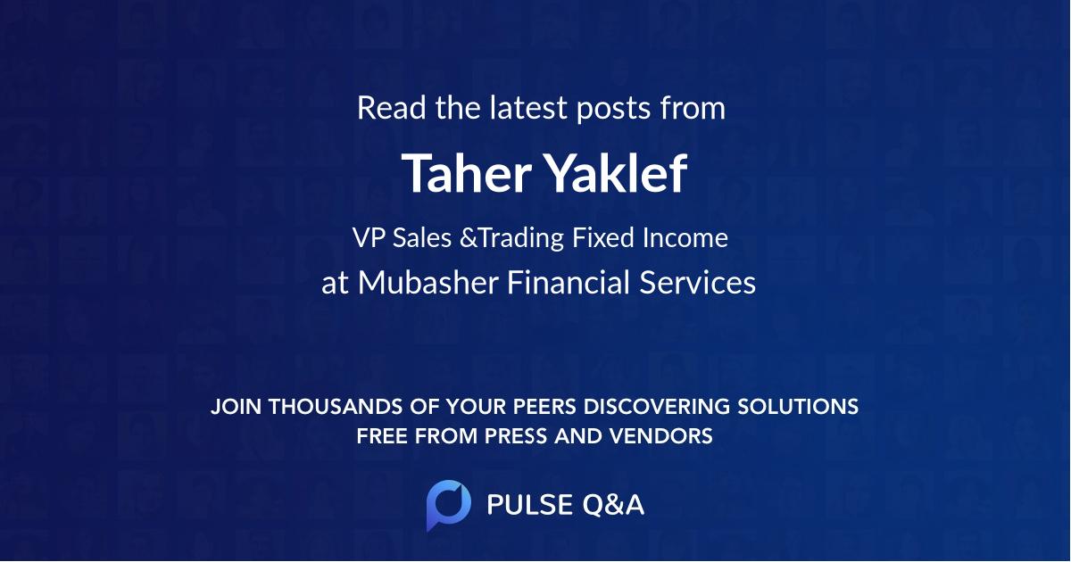 Taher Yaklef