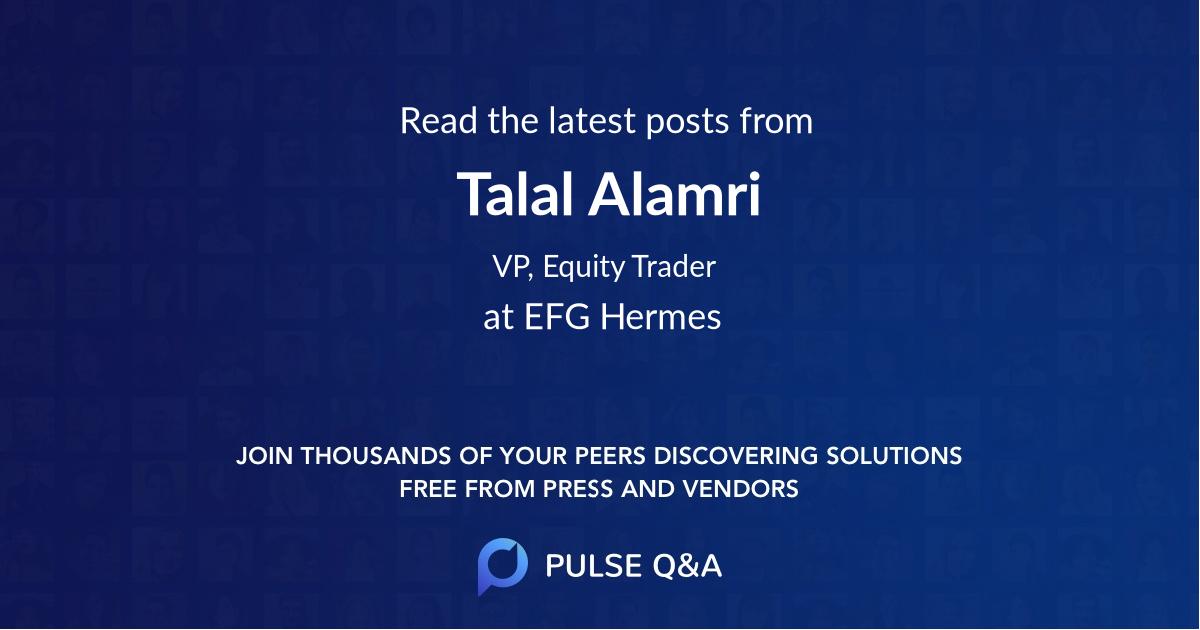 Talal Alamri