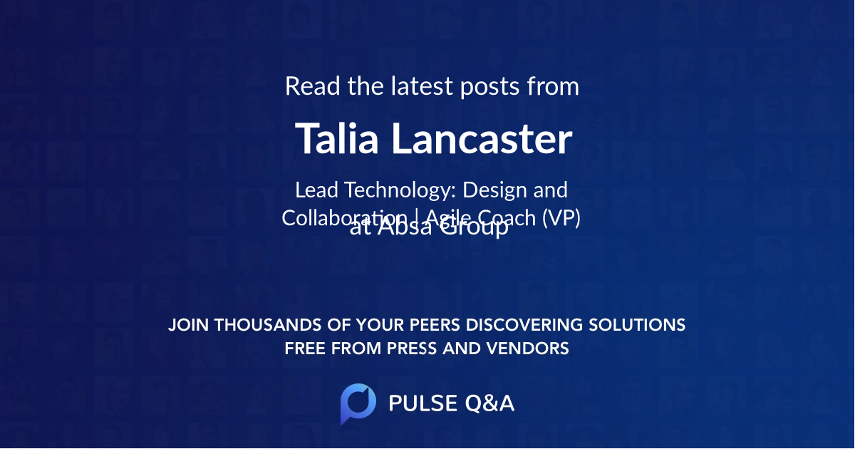 Talia Lancaster