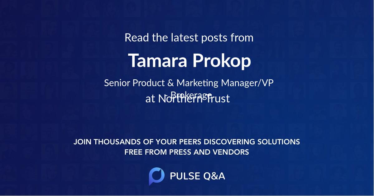 Tamara Prokop