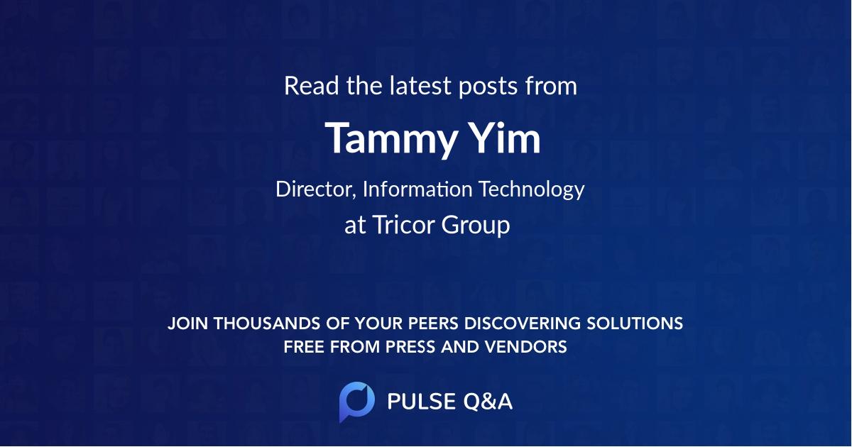 Tammy Yim