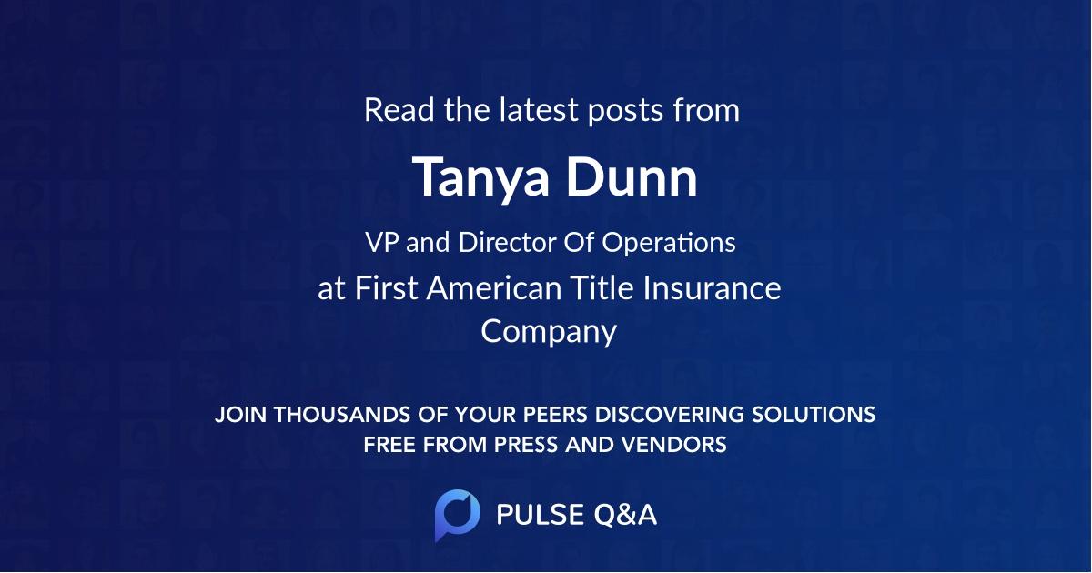 Tanya Dunn