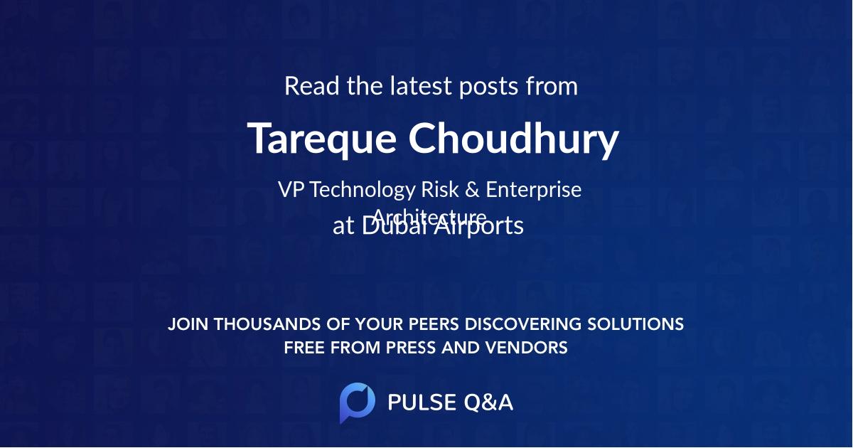 Tareque Choudhury
