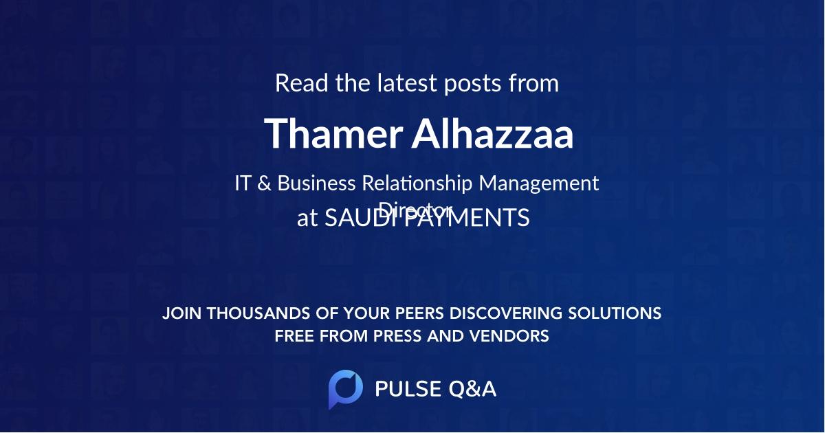 Thamer Alhazzaa